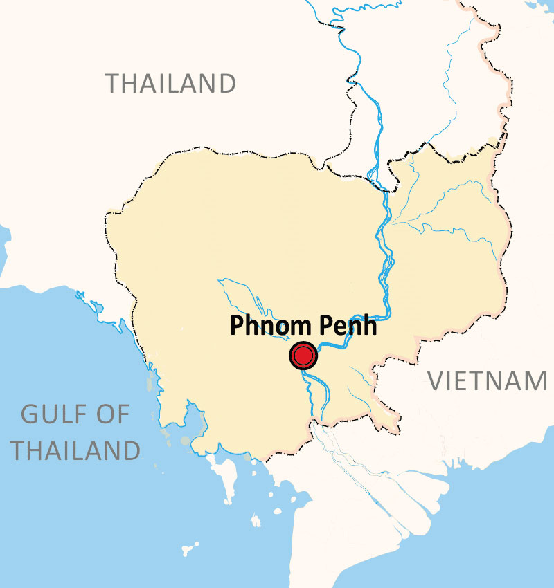 PHNOM PENH CITY FULL DAY TOUR