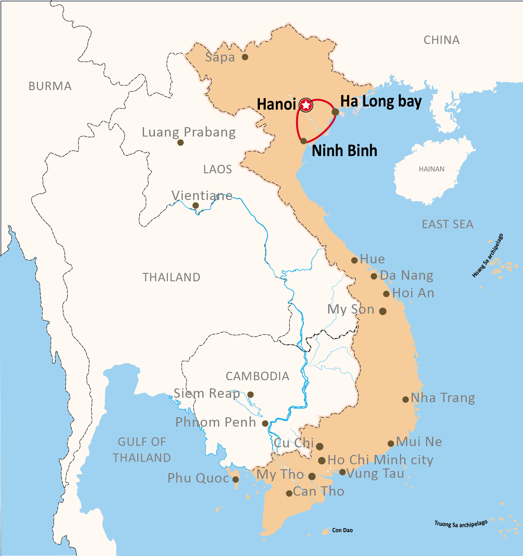 UNIQUE NORTH VIETNAM
